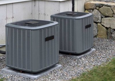 Heating and air conditioning home units